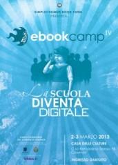 A Cosenza la 4a edizione dell'ebook camp