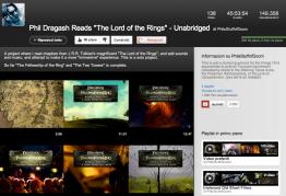 L'audiolibro del Signore degli Anelli: intervista a Phil Dragash