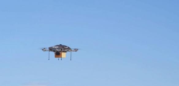 Amazon utilizzerà i droni per consegnare i suoi prodotti in appena mezz'ora?