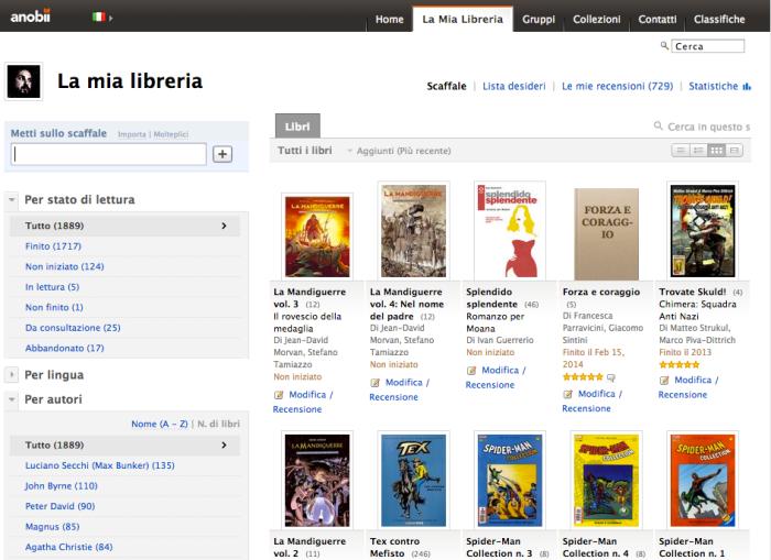 Mondadori acquisisce aNobii, il social network mondiale dedicato ai lettori