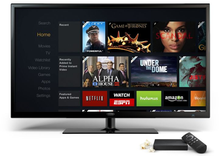 Amazon ha presentato Fire Tv, nuova sfida per il colosso di Jeff Bezos