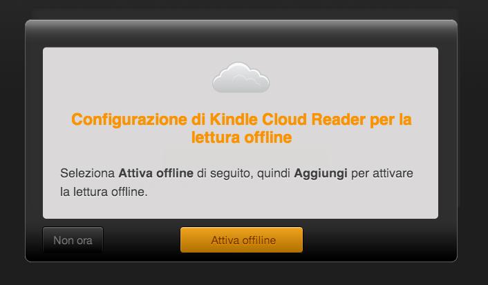 Kindle Cloud Reader per leggere gli ebook ora non è necessario effettuare il download