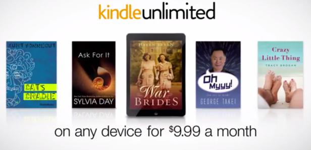 Con Kindle Unlimited Amazon rivoluzionerà di nuovo l'editoria