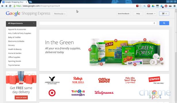 Shopping Express Google lancia la sfida a Amazon sull'ecommerce