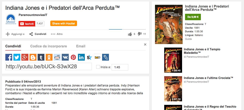 Youtube da oggi si possono acquistare e vedere film in for Youtube oggi