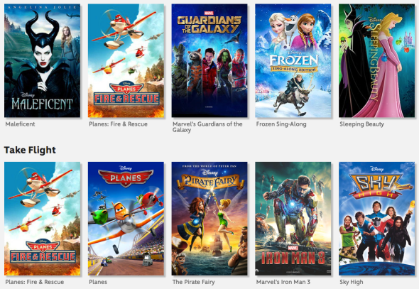 Disney Movies Aniwehere riesce a mettere d'accordo Google e Apple feat