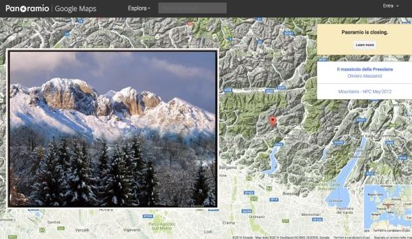 google-chiude-panoramio
