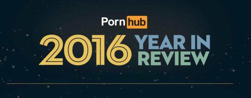 Tutti i numeri di PornHub, 2016