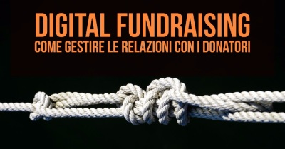 Workshop gratuito dedicato al Digital Fundraising