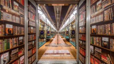 Pechino, audiolibri gratis in metropolitana