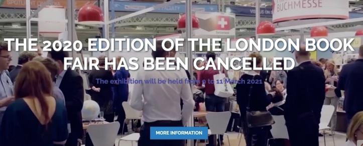 A causa del Coronavirus ormai diffuso in tutta Europa è stata cancellata la London Book Fair 2020.