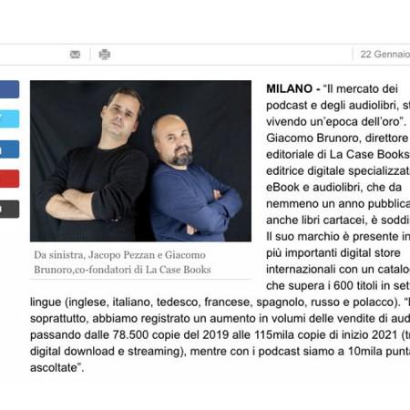 LA CASE Books intervista su Repubblica Affari e Finanza